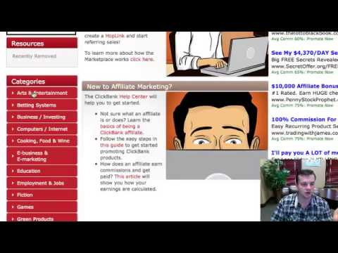 Affiliate Marketing With Clickbank – This Stuff Rocks!