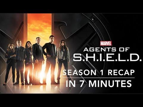 Agents of S.H.I.E.L.D Season 1 Recap in 7 Minutes