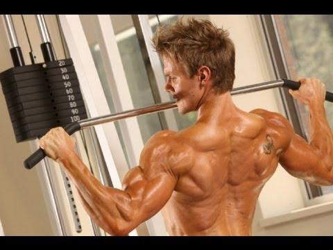 Antrenament spate Rob Riches WBFF Fitness Model