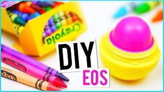 DIY EOS out of CRAYONS! - YouTube