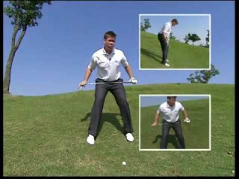 Golf Instruction by Michael Dickie – Ball Below the Feet