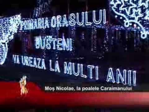 Moș Nicolae, la poalele Caraimanului