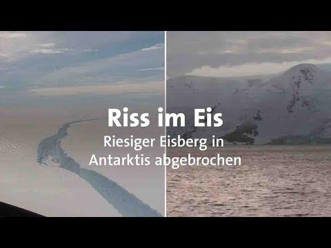 Riesiger Eisberg in Antarktis abgebrochen