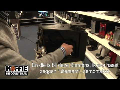 Siemens TK529NL espressoapparaat – Ideale espresso machine, de Siemens TK529NL!