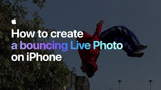 Video How to create a bouncing Live Photo on iPhone — Apple MP3, 3GP, MP4, WEBM, AVI, FLV Februari 2018