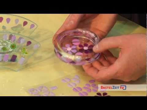 Bastelzeit TV 61 - Mosaiksticker auf Glas