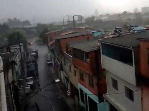 CHUVA EM SANTO ANDRE -SP HOJE