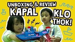 Download Video Unboxing & Review Mainan Kapal Klothok / Tok-Tok MP3 3GP MP4