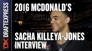 Sacha Killeya-Jones - 2016 McDonald's All American Interview