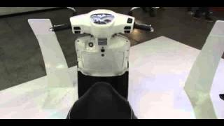 8. 2014 Kymco Like 200i Scooter Walkaround