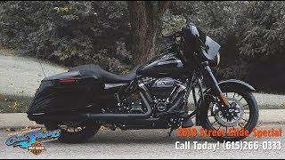 6. 2019 Harley-Davidson Street Glide Special (Black)