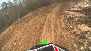 7. 2014 kx100 race at Scrub N Dirt