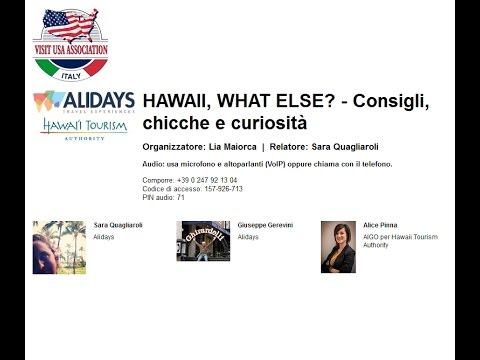 Video HAWAII, WHAT ELSE: Consigli, chicche e curiosità (17/11/2016)