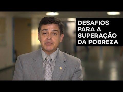 Eduardo Barbosa desafios para superar a pobreza