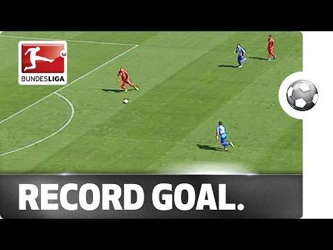 Bàn thắng nhanh nhất lịch sử Bundesliga :)) :))
