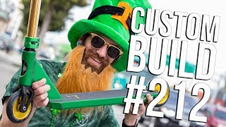 Video 🍀 Custom Build #212 🍀 (St. Patrick's Day Special) │ The Vault Pro Scooters MP3, 3GP, MP4, WEBM, AVI, FLV Maret 2019