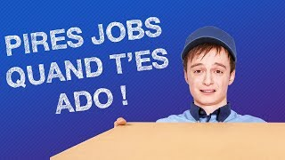 Video TOP #5 DES PIRES JOBS QUAND T'ES ADO MP3, 3GP, MP4, WEBM, AVI, FLV Agustus 2018