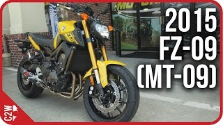 10. 2015 Yamaha FZ-09 (MT-09) | First Ride