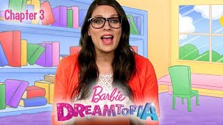 #Readalong with Ms. Booksy, as she follows Barbie and Chelsea through the magical world of Dreamtopia, filled with unicorns, mermaids, and princesses! In this chapter, Chelsea and Barbie help the Unicorns investigate the destruction of their licorice barn. With unexpected help from the Notto Prince, the friends help to rebuild the barn and learn a lesson in patience and planning along the way. Read along and join in on the adventure! Watch the full movie special here: https://youtu.be/JrAWFtWyEJsWatch more Barbie #Readalong: videos:http://po.st/DreamtopiaReadalongSUBSCRIBE: http://bit.ly/BarbieSubAbout Barbie:For over 57 years, Barbie has led girls on a path to self-discovery and helped them to imagine the possibilities. After over 180 inspirational careers, Barbie—along with her friends and family—continues to inspire and encourage the next generation of girls that they can be anything. Connect with Barbie Online:Visit the official Barbie WEBSITE: http://bit.ly/BarbieWebsiteLike Barbie on FACEBOOK: http://po.st/Barbie_FBFollow Barbie on TWITTER: http://po.st/Barbie_TwitterFollow Barbie on INSTAGRAM: http://po.st/Barbie_InstagramChapter 3: Building a Licorice Barn  #Readalong with Ms. Booksy  Dreamtopia  Barbiehttps://www.youtube.com/user/barbie