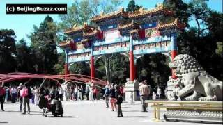 Ten-rope skipping in JingShan Park 景山公园, BeiJing 北京