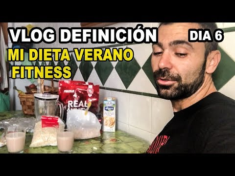 Dieta para bajar de peso - VLOG DIETA DEFINICION 6  PRIMER VERANO FITNESS