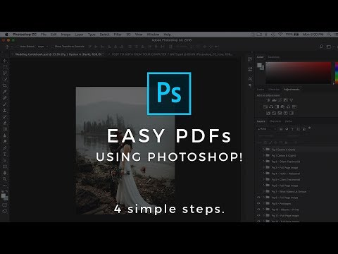 Multi Page PDF In Photoshop - How To Tutorial 2018 (The Easy Way!)