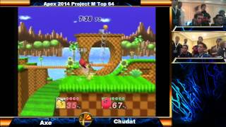 Axe (Pikachu) vs Chudat (Kirby) and other Apex 2014 Matches!
