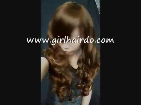 GIRLHAIRDO.COM 2012 LONG FULL CURLY THICK WIG