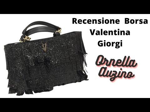 La borsa con i glitter di Valentina Giorgi. Finalmente l'ho comprata!