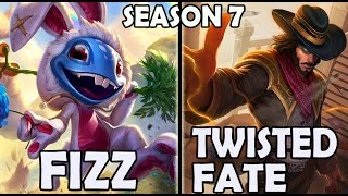 Best FIZZ Korea (68% Win rate) vs TWISTED FATE Ranked Challeng...
