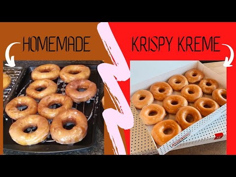How to make Krispy Kreme Donuts At Home!