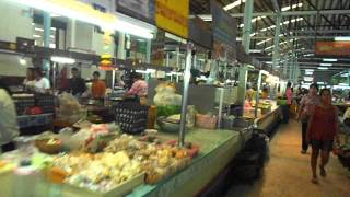 Fresh Thai Foods At Krabi Morning Market Maharaj Market Krabi Town Thailand
