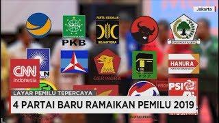 Video 4 Partai Baru di Pemilu 2019 MP3, 3GP, MP4, WEBM, AVI, FLV November 2018
