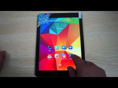 Cube T9 4G LTE Phone Tablet 2.0ghz MTK8752v Octa Core 64Bit Android 4.4 9.7