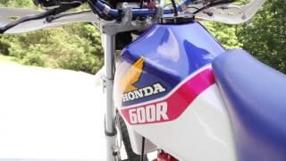 1. 1986 Honda XL600R motorcycle