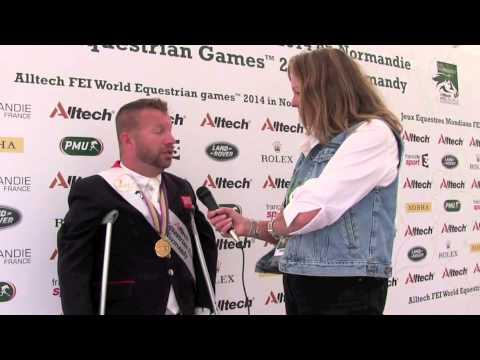 WEG para dressage: H&H talks to Lee Pearson [VIDEO]
