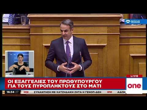 Video - Δημσοιοποιήθηκε η πράξη νομουθετικού περιεχομένου για το Μάτι