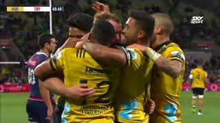 Rebels v Hurricanes Rd.7 2018 Super Rugby Video highlights