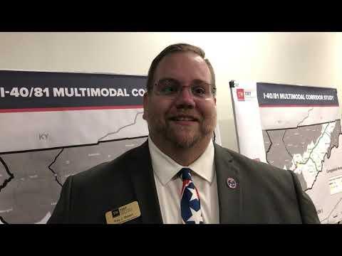 Video: Speaking of the Interstate 40/81 Multimodal Corridor Study