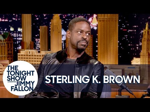 Sterling K. Brown on Keeping This Is Us Secrets and Acting with Bestie Brian Tyree Henry (видео)