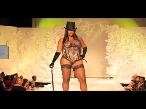 Curvy Couture runway presentation at FFFWeek 2013: