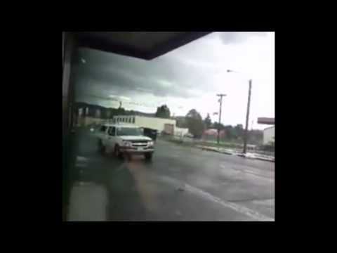 washington - Ashley McLean captured video of a tornado that appeared today in Longview, Washington.