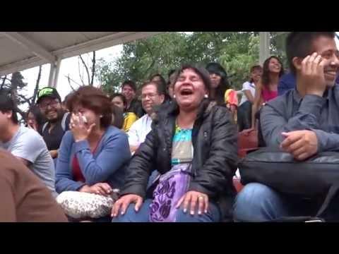 Payasos y Mimos en Coyoacan Parte 13: Rosco Clown