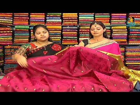 New varieties of pattu sarees - Sogasu chooda tarama 28 February 2014 06 PM
