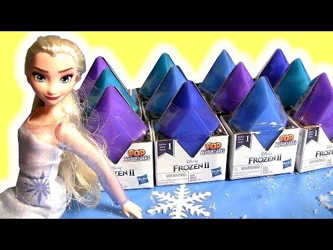 Frozen 2 Diamante surpresas e novos Brinquedos Frozen 2019 new toys
