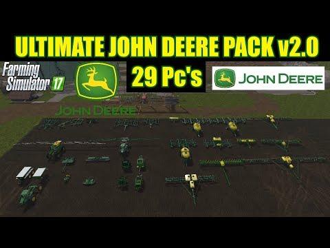 John Deere tools pack v1.0