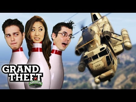 IAN COMES IN LIKE A WRECKING BALL (Grand Theft Smosh)