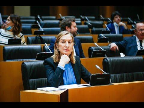 Intervención de Ana Pastor en la Comisión para la Reconstrucción Social y Económica
