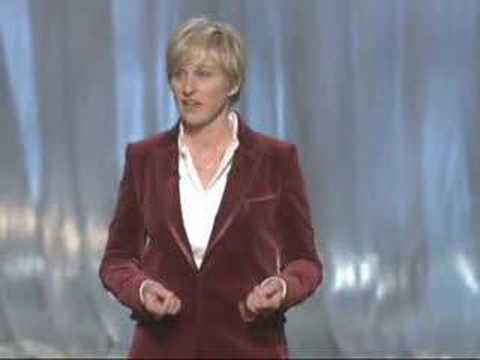 Academy Awards - 79th Annual Academy Awards® host Ellen DeGeneres' opening monologue (2007).