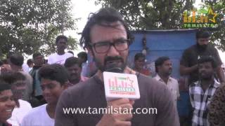 Vincent Asokan at Vajram Team Organized Marathon for School Students